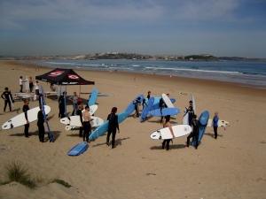 Surf classes in Somo