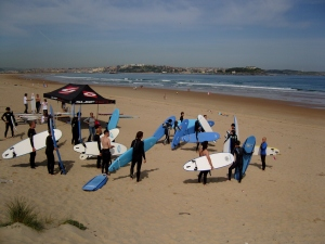 Surf classes in Somo