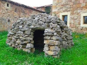 Dry stone hut