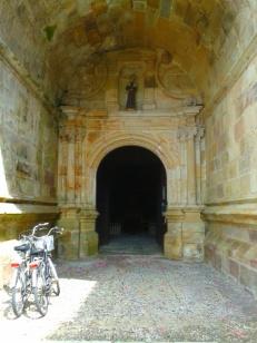 Entrance to Convento de San Francisco