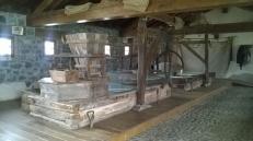 Inside the Molino de Santa Olaja