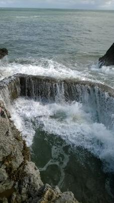 Old swimming baths, Noja coast path