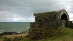 Civil war bunkers, Noja coast path