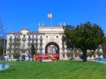 Banco Santander arch
