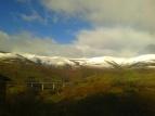 A67 motorway up the Besaya valley