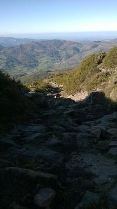Roman road, Espina de la Gallega