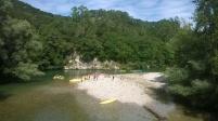 Canoeing the River Deva