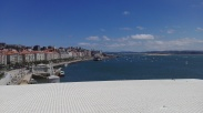 Santander seafront from the Centro Botín viewing deck.