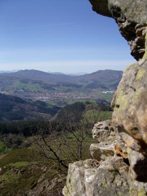Buelna valley from Monte Tejas