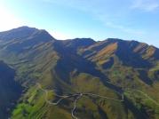 La Lunada mountains, high Miera valley