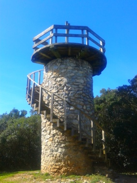 El Cincho viewing tower, Arnuero