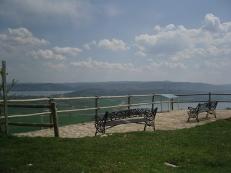 Ebro Reservoir from the Ermita Virgen de las Nieves, Monegro