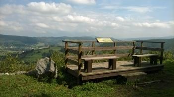 Viewpoint over the Pas valley, Monte Castillo, Puente Viesgo