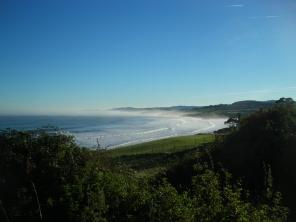 Playa de Oyambre from Gerra