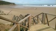 Playa El Pajaro Amarillo, Oyambre, Comillas