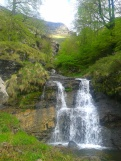 Waterfalls of the high Pas valleys