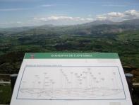360º views from the top of Peña Cabarga, Heras