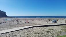 Playa de Luaña, Cobreces