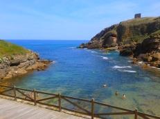 Playa de Santa Justa, Ubiarco