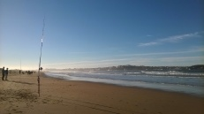 Playa de Somo & views to Santander