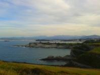 Santander headlands from the Cabo Mayor headland