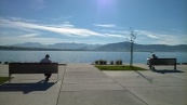 Gamazo, along the seafront