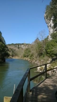 River Nansa river walk, Muñorrodero