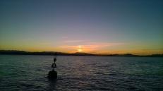 Sunset over Santander Bay