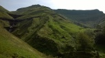 High Pas Valley waterfalls
