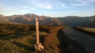 Above the Braguia pass, Pas valley