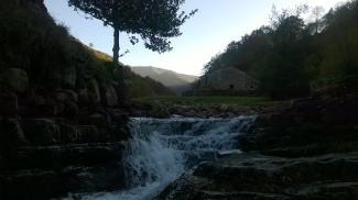 Waterfalls of the Pas valleys
