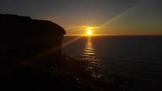 Cobreces cliffs