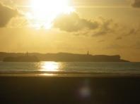 Santander from Somo beach