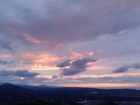 Sunset from Pico Capia, Monte Dobra, Torrelavega