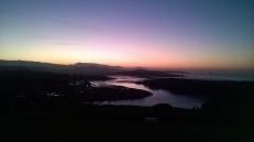 Sunset over the Pas Estuary from La Picota