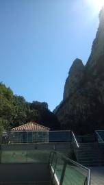Balneario de la Hermida terrace